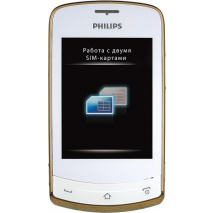 Philips Xenium X518 White